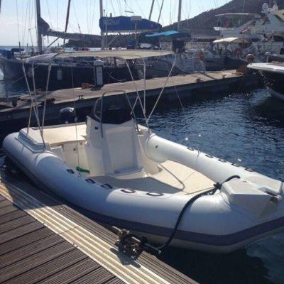 Noleggio gommone 580 - Boat Service Mondello - Noleggio Gommoni Palermo