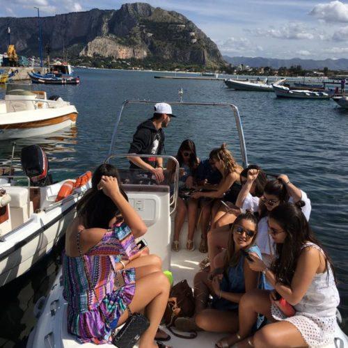 Escursioni - Boat Service Mondello - Noleggio Gommoni Palermo