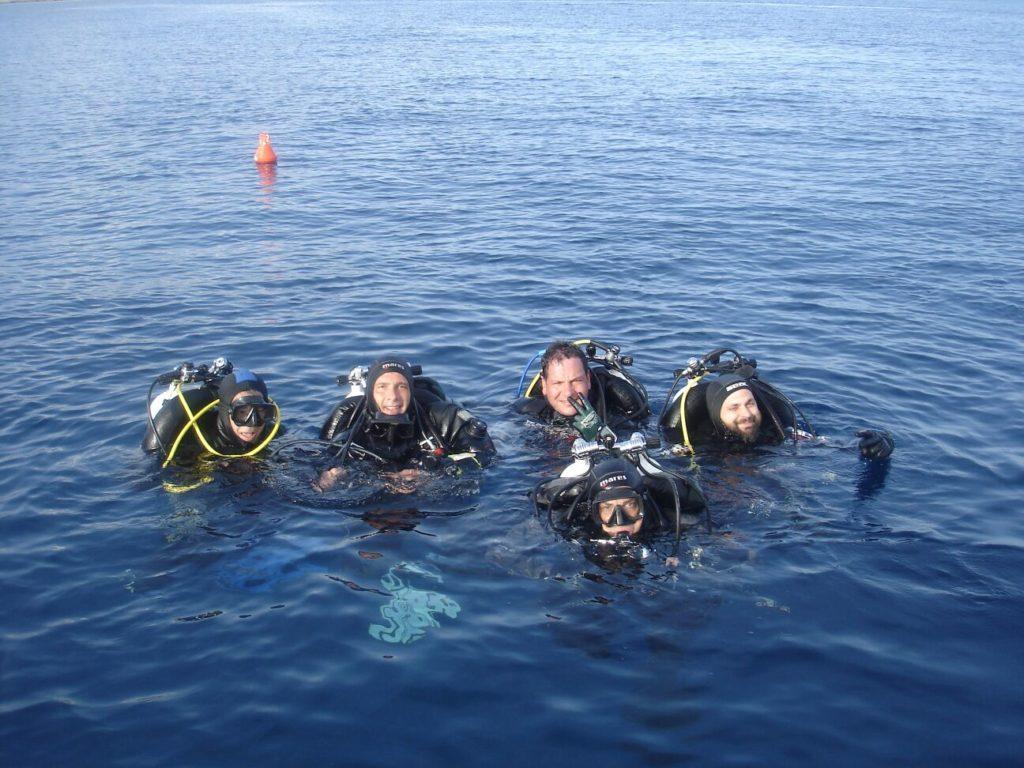 Immersione da gommone alla Grotta dell'Olio